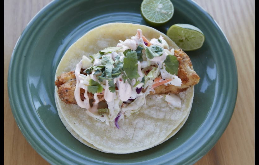 Southern Fried Fish Taco