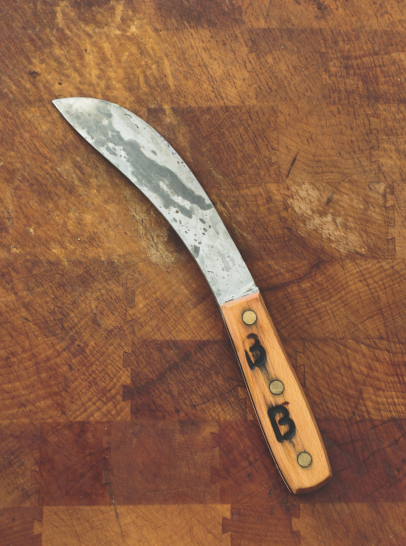 Tanya Cauthen Belmont Butchery skinning knife