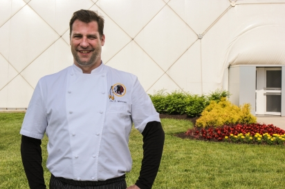 Washington Redskins Chef Jon Mathieson