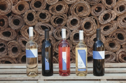 Upper Shirley wines include viognier, rose and tannat.