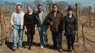Upper Shirley Vineyards owners and management team