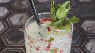 Pink Gin Mule